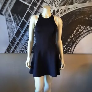 ABERCROMBIE & FITCH Black Fit and Flair Dress!